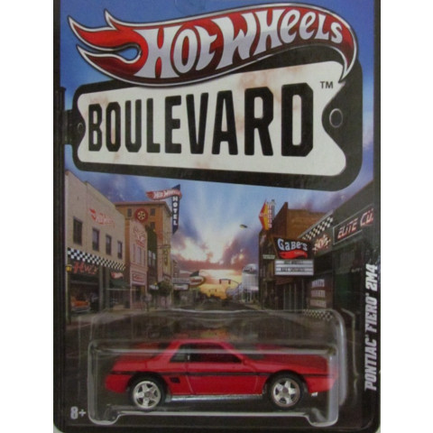 Hot Wheels Boulevard Case E - Pontiac Fiero 2M4 - 1:64