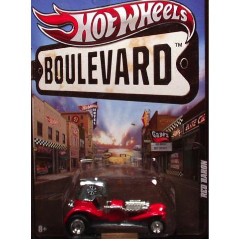 Hot Wheels Boulevard Case E - Red Baron - 1:64