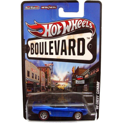 Hot Wheels Boulevard Case F -69 Chevy Camaro - 1:64