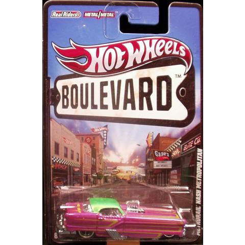 Hot Wheels Boulevard Case F - Metrorail Nash Metropolitan - 1:64