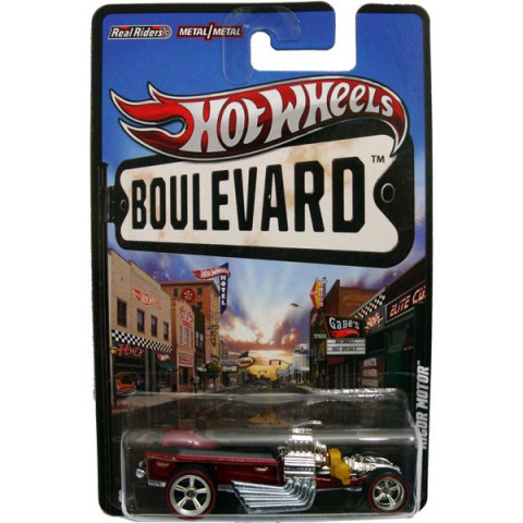 Hot Wheels Boulevard Case F - Rigor Motor - 1:64