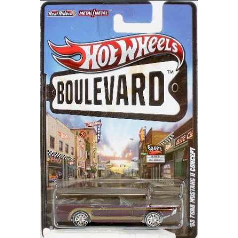 Hot Wheels Boulevard Case G - 63 Ford Mustang II Concept - 1:64