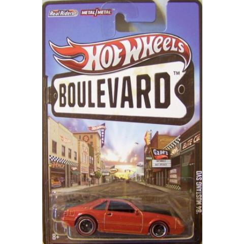 Hot Wheels Boulevard Case N - 1984 Mustang SVD  - 1:64