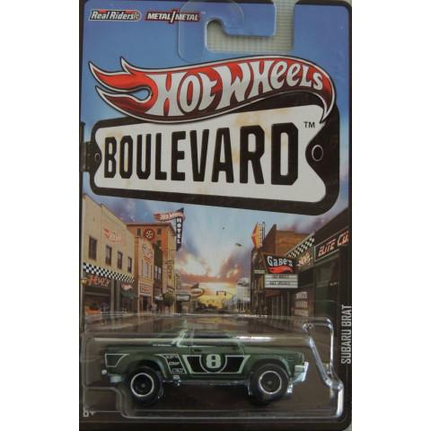 Hot Wheels Boulevard Case N - Subaru Brat  - 1:64