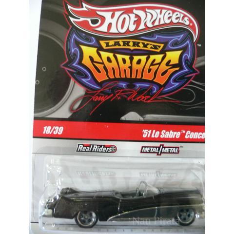 Hot Wheels Larry's Garage '51 Le Sabre Concept - 1:64
