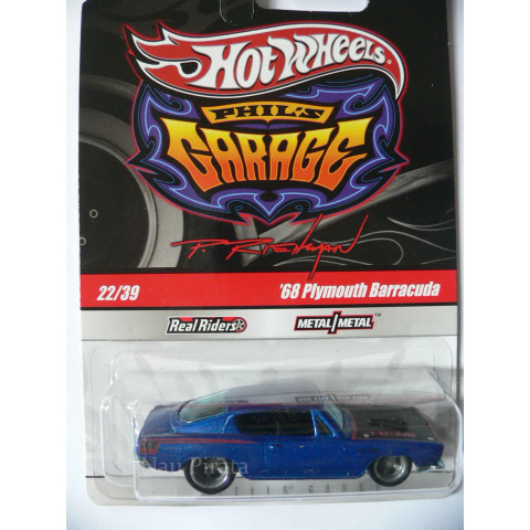 Hot Wheels Larry's Garage '68 Plymouth Barracuda - 1:64