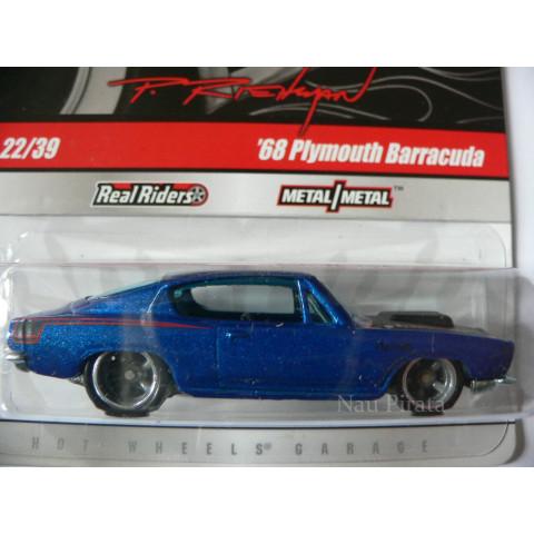 Hot Wheels Larry's Garage '68 Plymouth Barracuda - 1:64