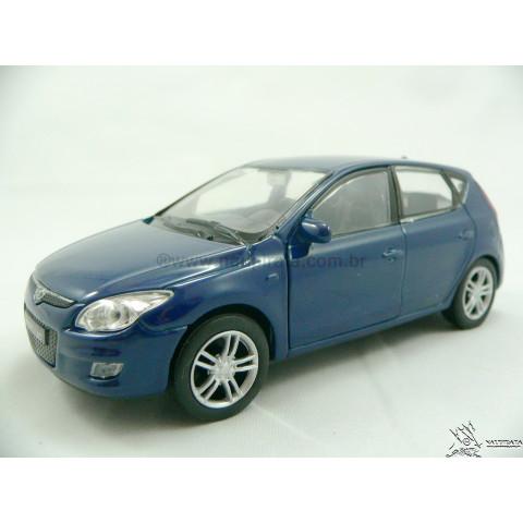 Hyundai I30 Azul 2011 Welly 1:32