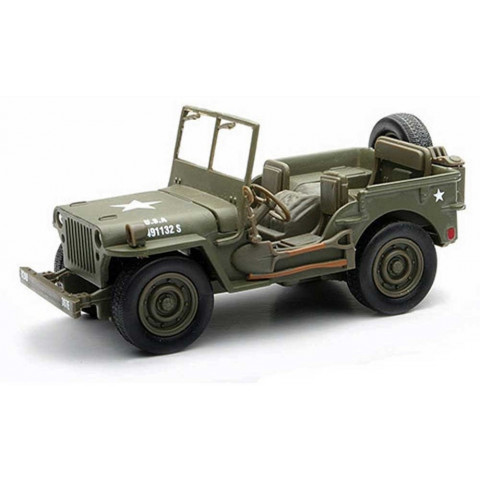 Jeep Willys Militar 1941 City Cruiser Collection  New Ray 1:32