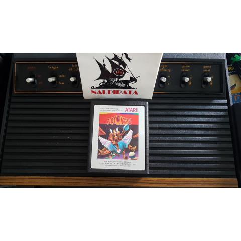 Joust 1982 Cartuchos Prateados Atari 2600