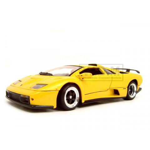 Lamborghini Diablo GT Amarelo Motormax 1:18