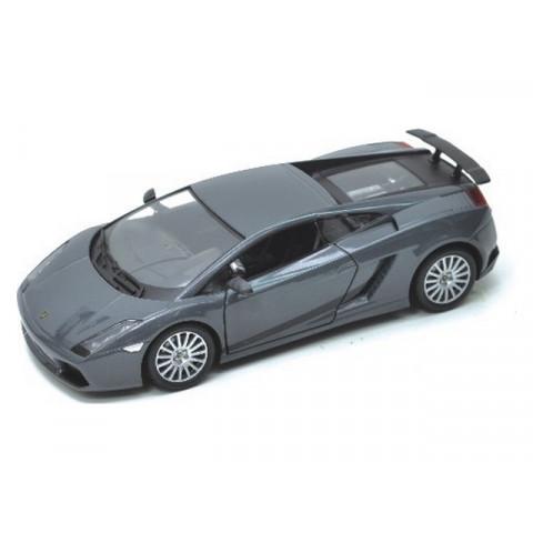 Lamborghini Gallardo Superleggera Cinza Motor Max 1:18
