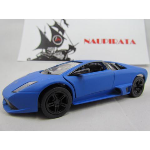 Lamborghini (Matte) Murciélago LP640 Azul Fosco Kinsmart 1:36
