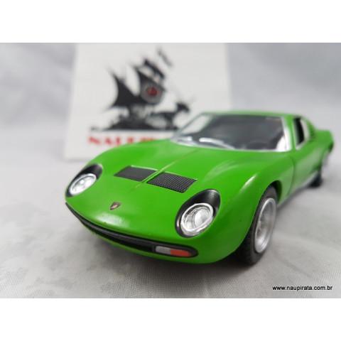 Lamborghini Miura P400 SV Verde 1:32 Kinsmart