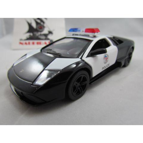Lamborghini Murciélago LP 640-4 Polícia Kinsmart 1:36
