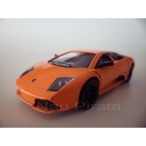 Lamborghini Murciélago LP640 Laranja  Kinsmart 1:36