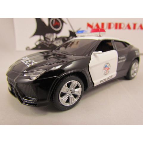 Lamborghini Urus Polícia Kinsmart 1:38