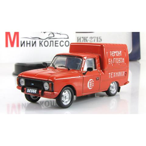 Lendas Russas Van IZH-2715 Delivery  #05 1:43 IXO