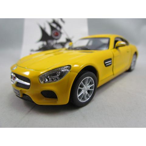 Mercedes Benz AMG GT Amarelo Kinsmart  1:36
