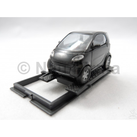 Mercedes-Benz Smart City Coupe Preto Busch 1:87