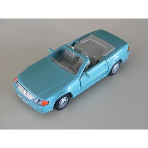 Mercedes SL 500 Azul Conversível Maisto 1:40