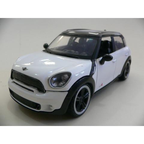 Mini Cooper S Countryman Branco Motormax 1:24