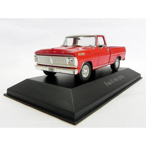 Miniatura Carros Inesquecíveis do Brasil Ford Pickup F-100 1978 1:43