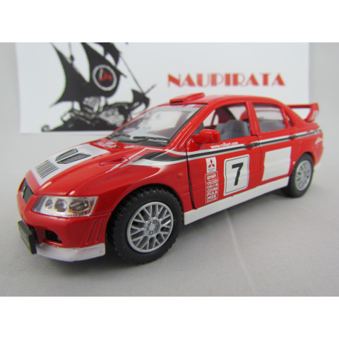 Mitsubishi Lancer Evolution VII WRC Rally Kinsmart 1:36
