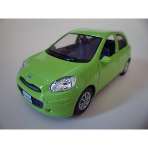 Nissan March Verde RMZ City 1:32