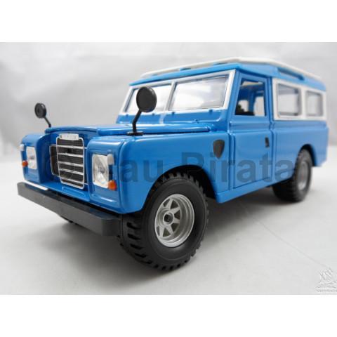 Old Range Land Rover Azul Bburago 1:24