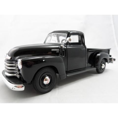 Pickup Chevrolet 3100 1950 Preto Maisto 1:24