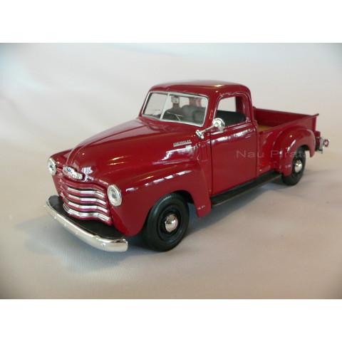 Pickup Chevrolet 3100 1950 Vermelha Maisto 1:24
