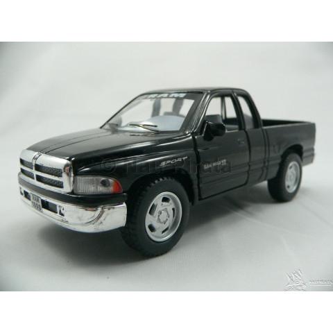 Pickup Dodge Ram Preta Kinsmart 1:44