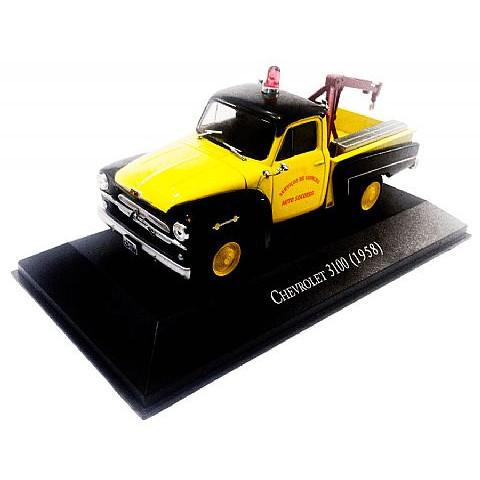 Pickup Reboque Chevrolet 3100 Brasil 1:43 IXO