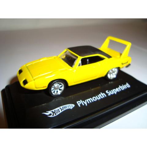 Plymouth Superbird Amarelo Mattel 1:87