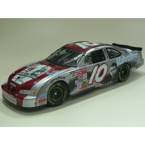 Pontiac 2001 ACTION #10 Johnny Benson Valvoline / James Dean Nascar Edição Limitada 1:24
