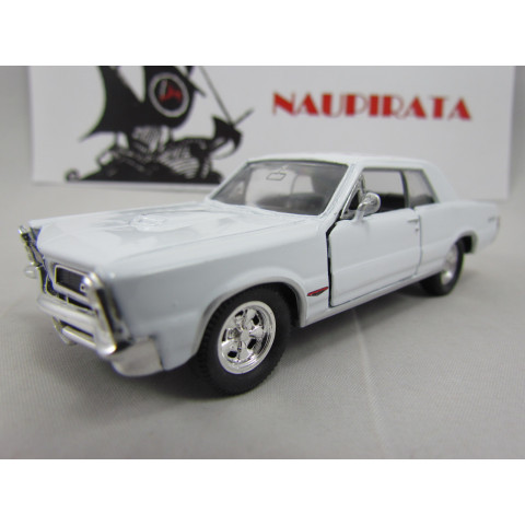 Pontiac GTO 1965 Branco Welly 1:40