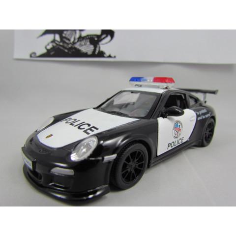 Porsche 911 GT3 RS Polícia Kinsmart 1:46