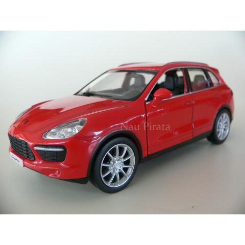 Porsche Cayenne Turbo S Vermelho RMZ City 1:36