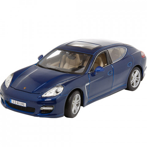 Porsche Panamera Turbo Azul Série Premiere Edition Maisto 1:18