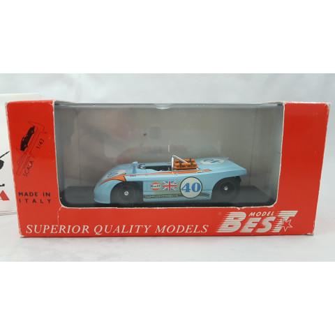 Porshe 908/3 Targa Florio 1970 1:43 Model Best