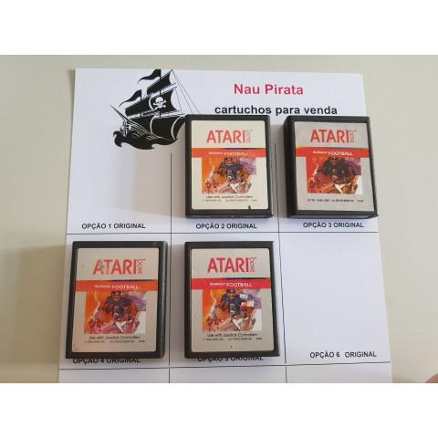 Real Sports Football 1982 Cartuchos Prateados Atari 2600
