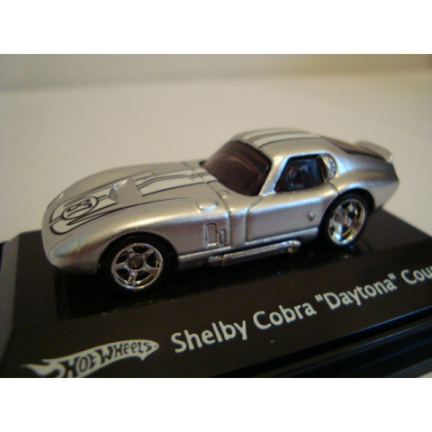 Shelby Cobra Daytona Coupe Prata Mattel 1:87