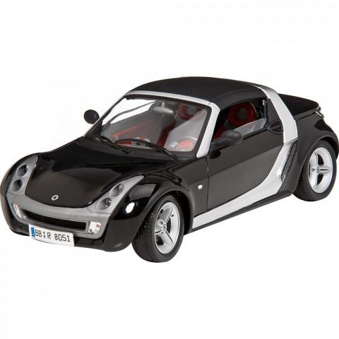 Smart Roadster Preto Série Gold Burago 1:18