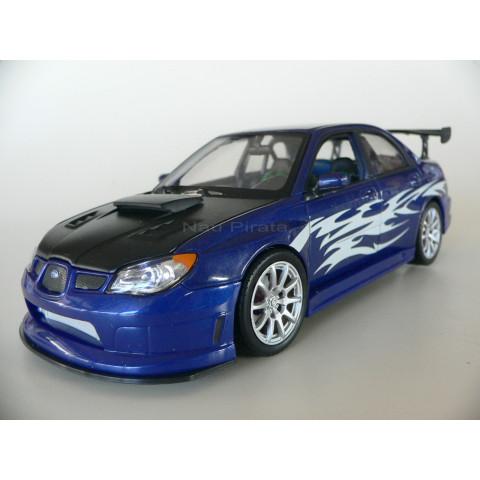 Subaru Impreza Azul Tuning 1:24 Welly