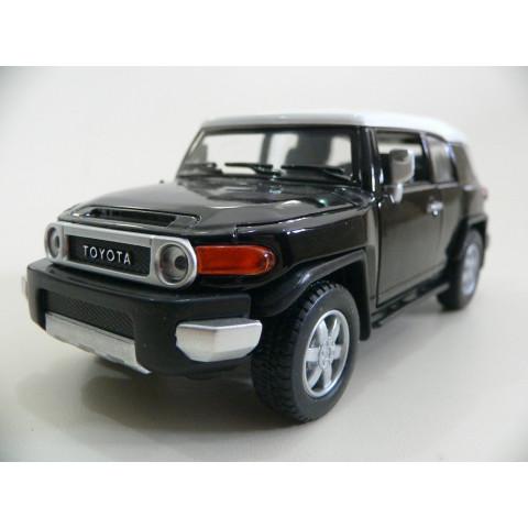 Toyota FJ Cruiser Preta Kinsmart 1:36