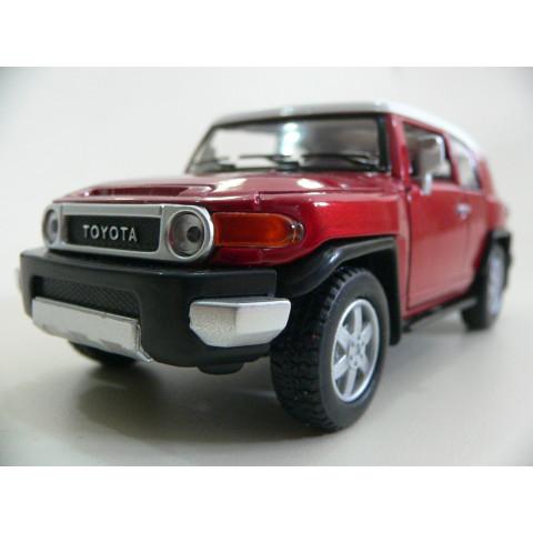 Toyota FJ Cruiser Vermelha Kinsmart 1:36