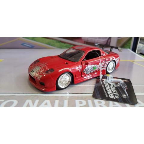 Velozes & Furiosos (Fast & Furious) Dom's Mazda RX-7 1:32 Jada