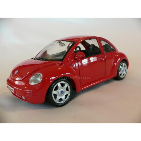 Volkswagen New Beetle Vermelho Maisto 1:25
