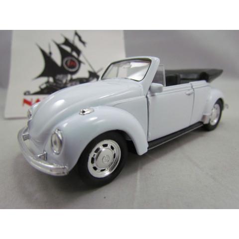 VW Fusca 1972 Conversível Branco Welly